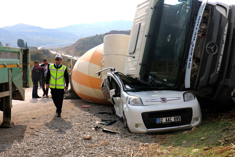 Bu kazadan sağ kurtuldular !