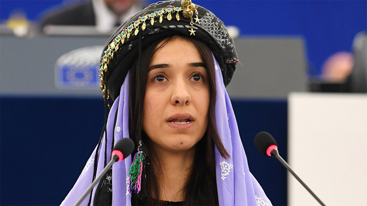 Nobel ödüllü Nadia Murad Sincar'da hastane yaptıracak