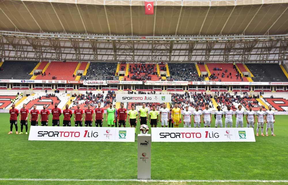 Spor Toto 1. Lig Kalyon Arena'da