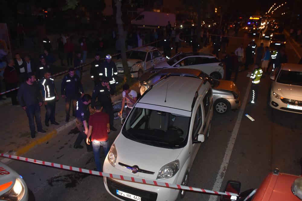 Zincirleme trafik kazası: 6 yaralı