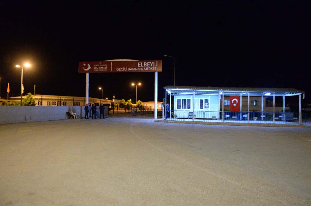 Suriyelilerin konteyner kentte ilk sahuru