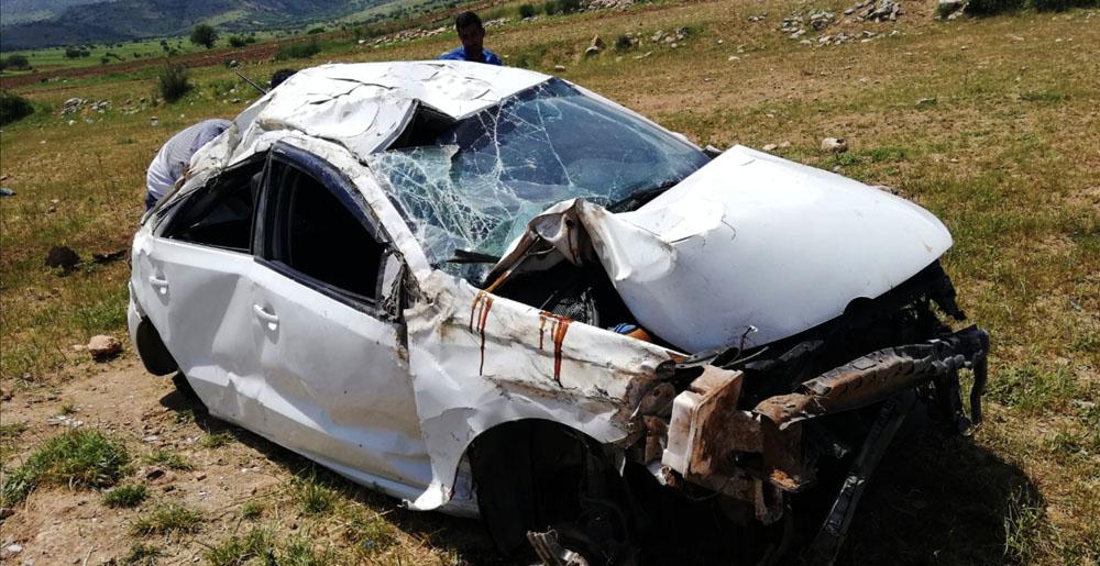 Trafik kazası: yaralılar var
