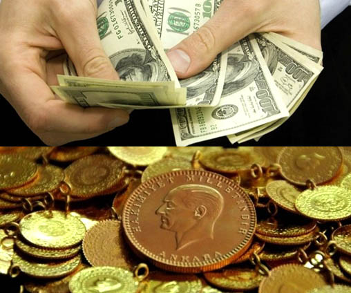 Dolar,Altın ve Euroda son durum