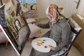 Göç Ettiği Kenti Sanatla Tanımaya Çalışıyor
