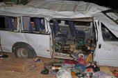 İşçi Servisi Kazası: 21 Yaralı!