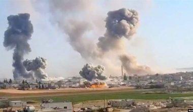 Hava Saldırısı 11 ölü!