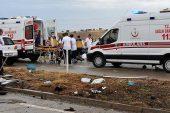 Minibüs Devrildi: 12 Yaralı!