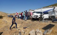 Trafik Kazası : 1 ölü, 3 yaralı!