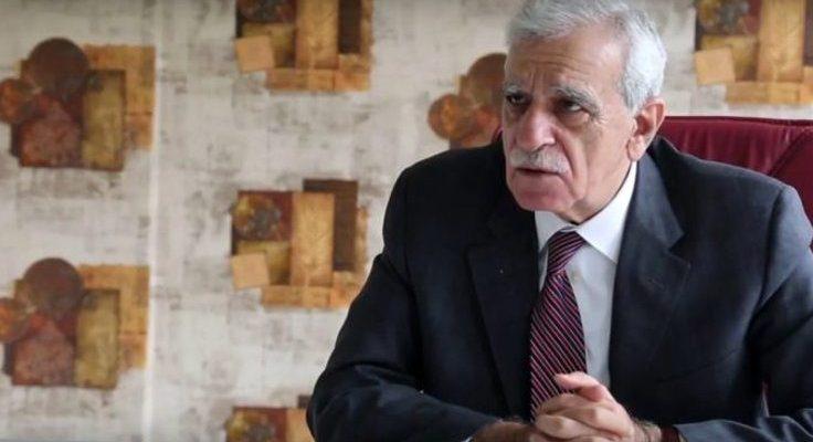 Ahmet Türk'e Soruşturma