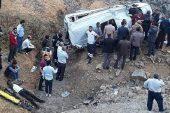 Trafik Kazası: 1 ölü 10 Yaralı!
