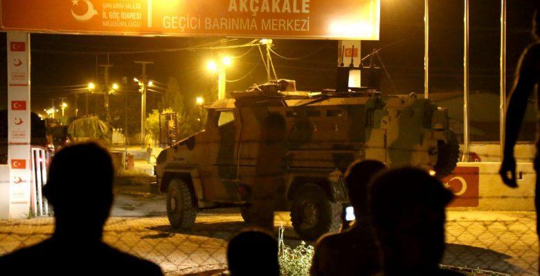 Yüzlerce Araçlık Askeri Konvoy Akçakale'ye Ulaştı