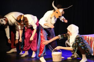 Dezavantajlı çocukların tiyatro keyfi