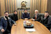 Güneyin Sesi Gazetesinden GGC Başkanı Ay'a Ziyaret