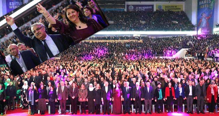 HDP'de Yeni Başkanlar Belli Oldu