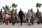 Bakan Hulusi Akar Suriye Sınırında