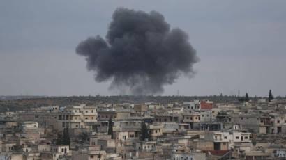 Suriye'de TSK Konvoyunun Geçişi Sırasında Patlama!