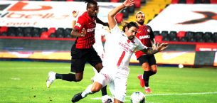 Gaziantep FK 1-1 Antalyaspor