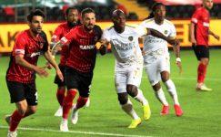 Gaziantep FK – Ankaragücü maçında kazanan olmadı