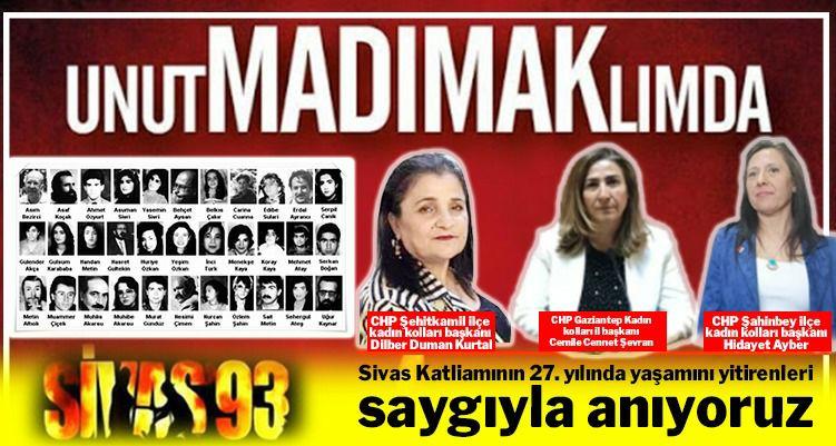 Sivas Katliamı Toplum Vicdanında Bir Yara