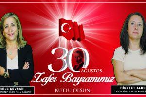 CHP Gaziantep Kadın Kolları: Büyük Taarruz'un 98'inci yıl dönümünü kutluyoruz