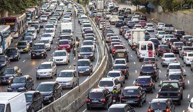 Türkiye'deki Toplam Araç Sayısı Belli Oldu