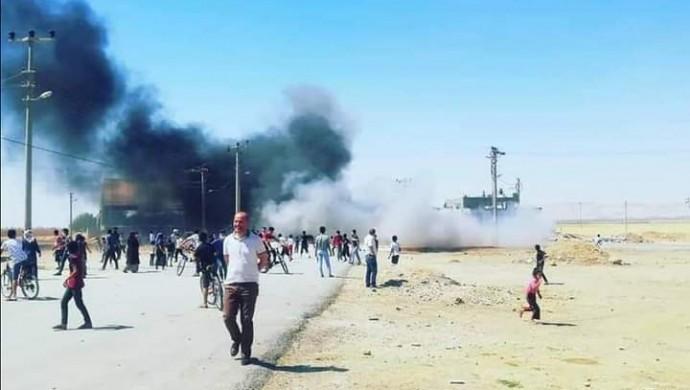 DEDAŞ'ı Protesto Eden Vatandaşa Sert Müdahale