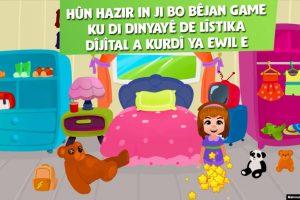 Kürtçe Dijital Çocuk Oyunu Uygulaması