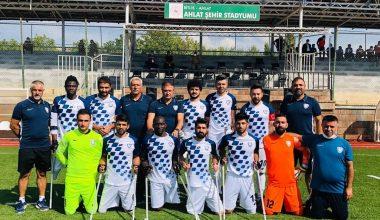 Şahinbey Ampute Takımı Finalde 4-0