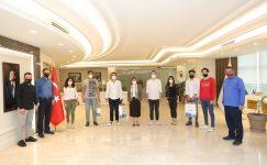 Gaziantep'te FIFA 2020 E-Spor turnuvası ödül töreni
