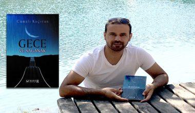 Şair Cumali Kaçıran'ın ilk kitabı Gece ve Sağanak yayınlandı