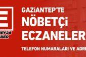 Gaziantep'te Nöbetçi Eczaneler/16 Ekim