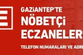 Gaziantep'te Nöbetçi Eczaneler/15 Ekim