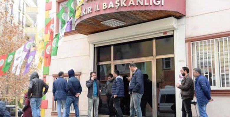 HDP Diyarbakır İl Binası'na Polis Baskını