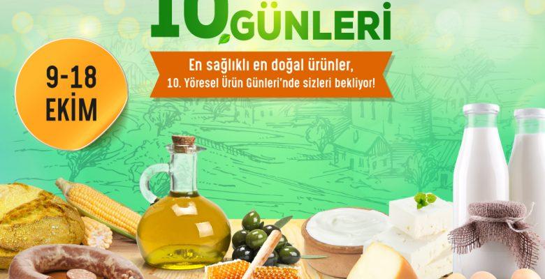 Gaziantep'in yöresel ürün günleri SANKO Park'ta