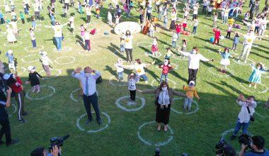 """Ziya Selçuk'un katılımıyla Gaziantep'te """"Temassız Oyunlar Şenliği"""""""