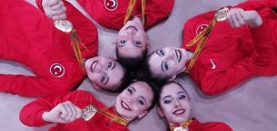 Kadın Ritmik Cimnastik Grup Milli Takımı, Avrupa şampiyonu oldu!