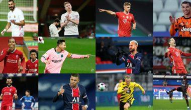 2020 yılının en iyi 30 futbolcusu belli oldu