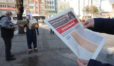 'Ayıntap Haberleri' 100 yıllık mücadeleyi yazıyor