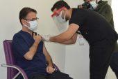 Gaziantep'te Covid-19 aşısı yapılmaya başlandı