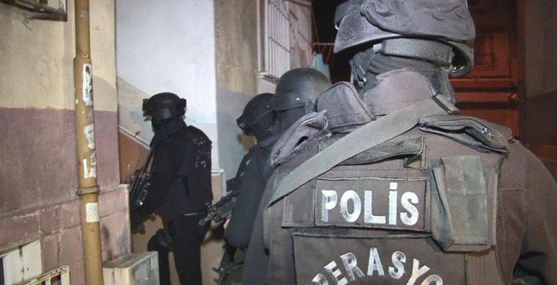 IŞİD operasyonu 35 gözaltı