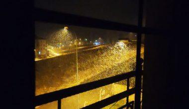Gaziantep'te yılın ilk kar yağışı başladı