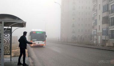 Gaziantep'te yoğun sis