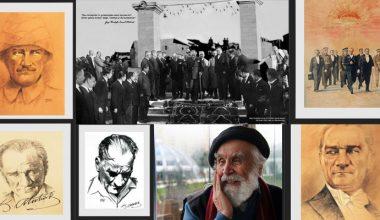 """SANKO Sanat Galerisi'nde """"Etem Çalışkan Çizgileriyle"""" Atatürk Portreleri"""