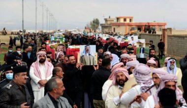 IŞİD'in katlettiği 104 Ezidi 6 yıl sonra defnedildi