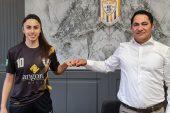 Milli Futbolcu Stoper Ayshan Ahmedova ALGSPOR'da