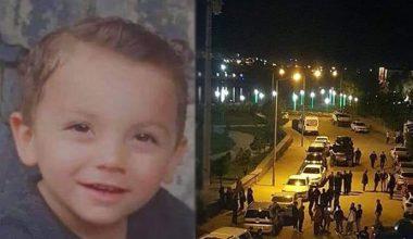 Babasının nehre attığı çocuk öldü