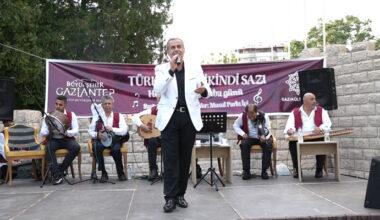 'İkindi Sazı' geleneği yeniden Gaziantep'te