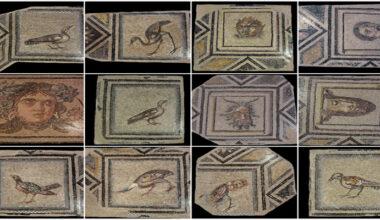 Çingene Kızı Mozaiği'nin replikaları ABD'ye gönderildi