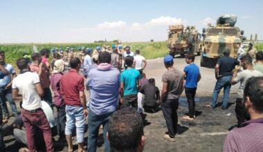 Çiftçilere bibergazlı müdahale: 2 yaralı, 7 gözaltı