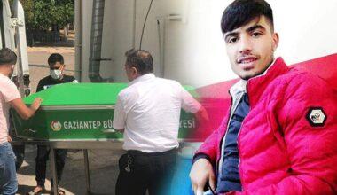 Gaziantep'te yıldırım isabet eden genç öldü